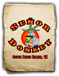 Senor Donkey Food Menu