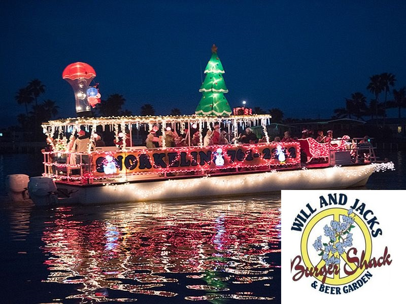 Christmas lighted boat Parade 2017